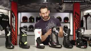 2014 Sport & Race Motorcycle Boots Buying Guide at RevZilla.com