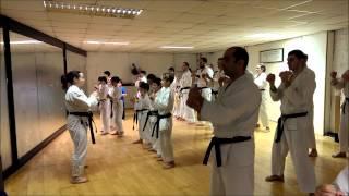 Kangeiko 2014 - Palma's Class