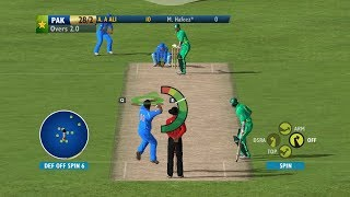 Ashes Cricket 2009 Patched 2017 Gameplay▶60FPS▶India Vs Pakistan