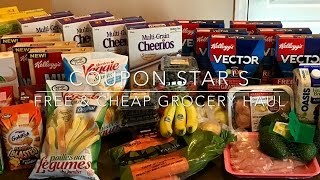 FREE & CHEAP GROCERY HAUL - January 13th 2017 - COUPONING IN CANADA!(Happy New Year! PLEASE SUBSCRIBE! Aiming for 5000 subscribers! :) Watch my last grocery haul: https://youtu.be/aUaDW3NTS38 Want to see how I use a lot ..., 2017-01-13T21:22:19.000Z)