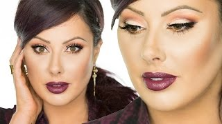Vampy Fall Makeup Tutorial | Makeup Geek
