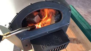 Napoli Pizza Oven fire starting and management
