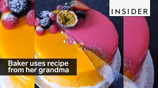 This baker uses her grandmother's traditional recipes