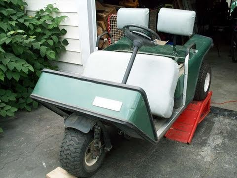 how to change the oil in my ezgo golf cart