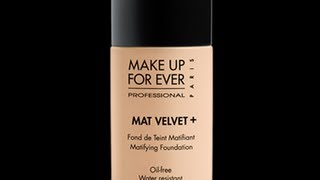 Review: Make Up For Ever Mat Velvet+ Foundation Thumbnail