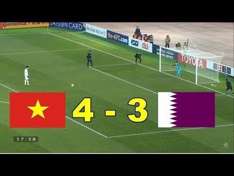 Penalties U23 Vietnam Vs U23 Qatar 4-3