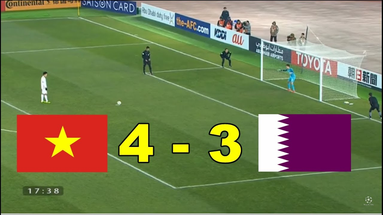 Penalties U23 Vietnam Vs U23 Qatar 4-3