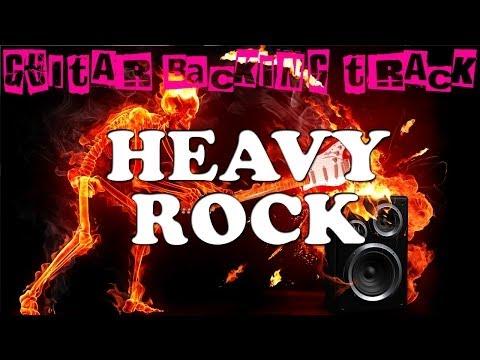 Heavy Rock Backing Track D  85 Bpm  MegaBackingTracks