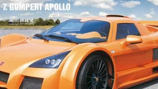 Top 10 Supercars in the world