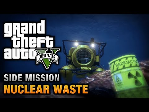 GTA 5 - Nuclear Waste [Waste Management Achievement / Trophy