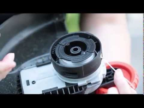 Changing A Single Line Spool On A Black Decker String Trimmer Youtube