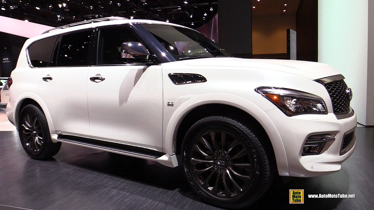 2016 Infiniti QX80 Limited   Exterior And Interior Walkaround   2016  Detroit Auto Show   YouTube