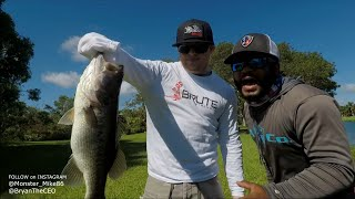 Short Black Dude Beat Up by a Real G | Monster Mike Fishing