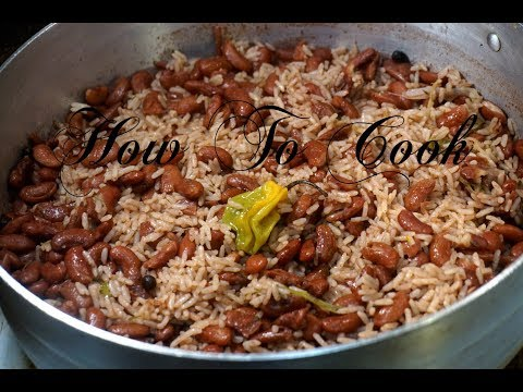 #food How to cook the best authentic Jamaican Rice and Peas recipe Fast Easy & Simple