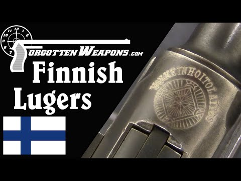 The Luger in Finland