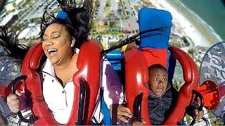 Moms & Sons #2 | Funny Slingshot Ride Compilation