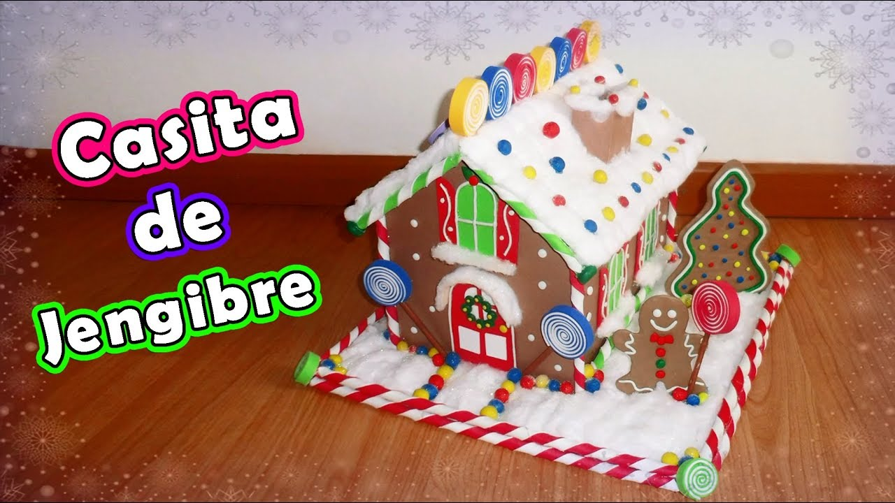 Casa de Jengibre (de de cartón) YouTube