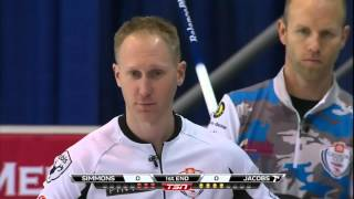 Simmons vs. Jacobs - 2015 Home Hardware Canada Cup of Curling (Draw 2)