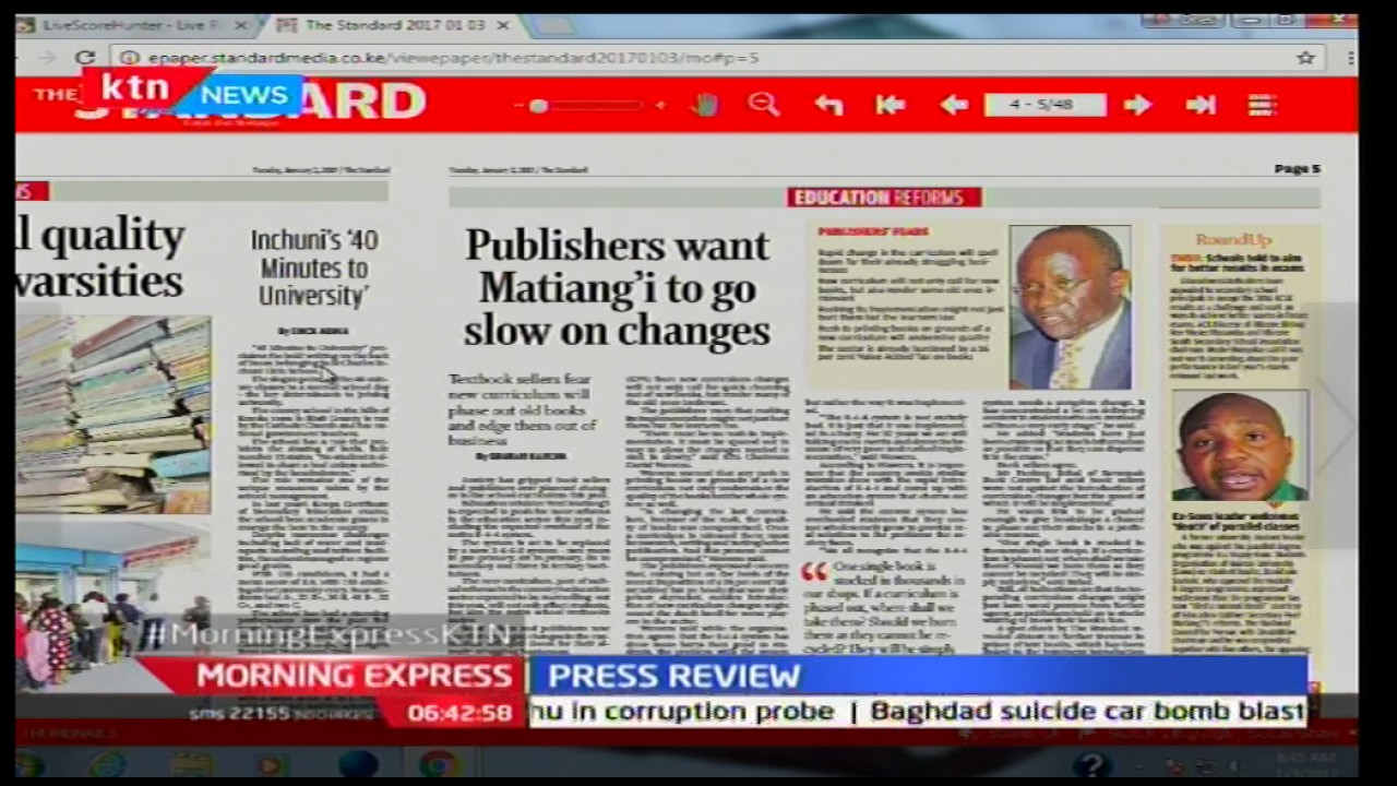 Publishers want Matiang'i to go slow on reforms