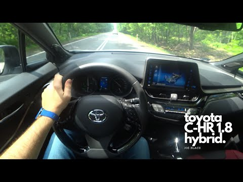 Toyota C-HR 1.8 Hybrid 122 HP 4K | POV Test Drive #060 Joe Black
