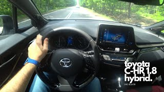 Toyota C-HR 1.8 Hybrid 122 HP 4K | POV Test Drive #060 Joe Black