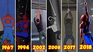 Эволюция Первого Полета Человека-паука на Паутине (1968-2018)