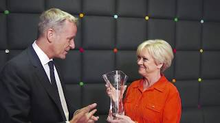 Sue Barker Honoured With 2018 Ron Bookman Media Excellence Award