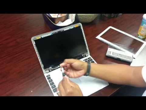Laptop Screen Replacement / How To Replace Laptop Screen Samsung Chromebook XE303C12