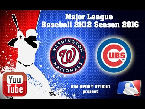 Washington Nationals-Chicago Cubs . MLB2K12