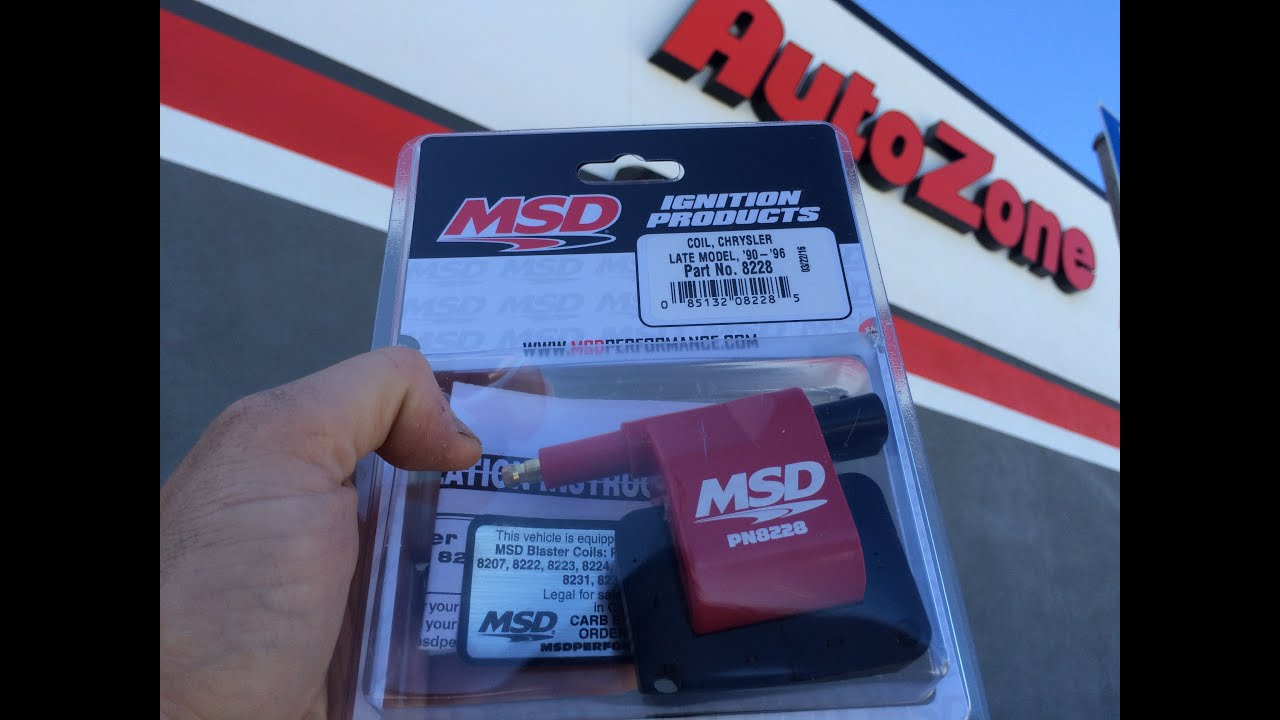 medium resolution of jeep cherokee xj msd coil install
