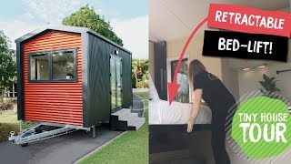 Camper Tiny House Tour | Retractable Bed Lift | By Build Tiny, Katikati New Zealand