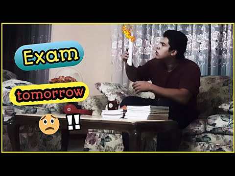 How Students Study For Exams | Mohab Elshamy