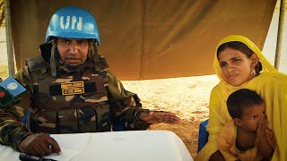 Bangladeshi UN Peacekeepers Deliver Critical Medical Aid to Re…