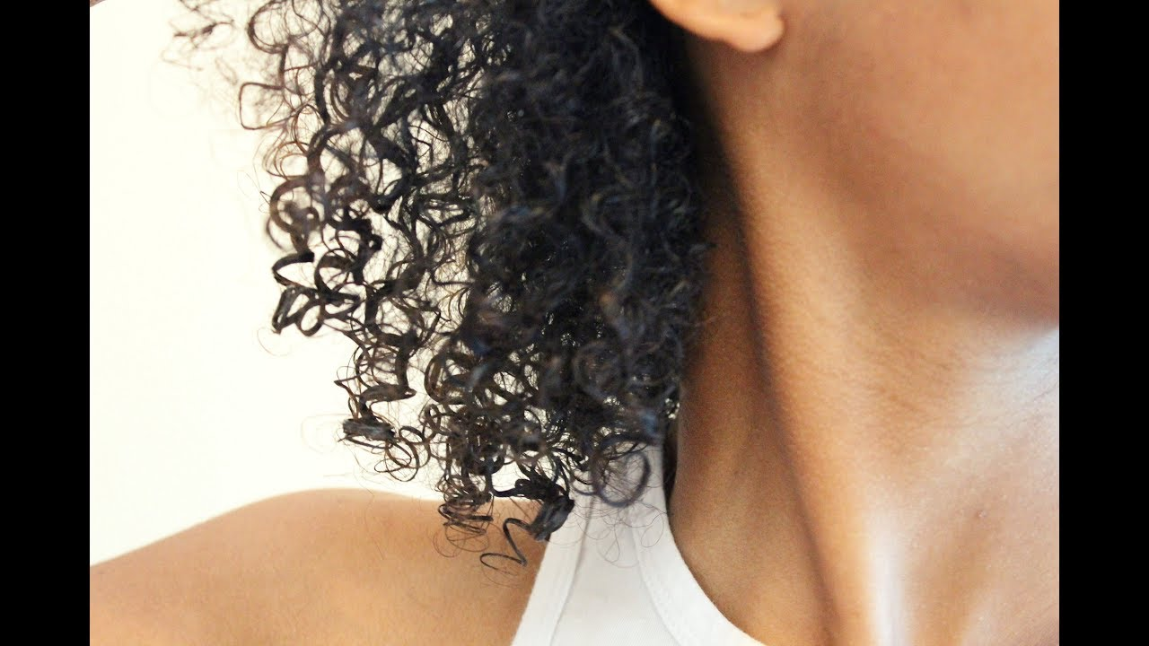 Natural Hair Wash And Go Routine For 3b3c4a Hair Types