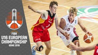 Latvia v Germany - Full Game - FIBA U16 European Championship 2019