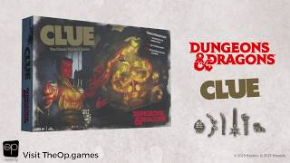 CLUE: Dungeons & Dragons | AVAILABLE NOW