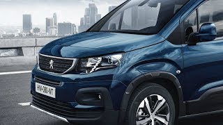 2019 Peugeot Rifter Interior & Highlights