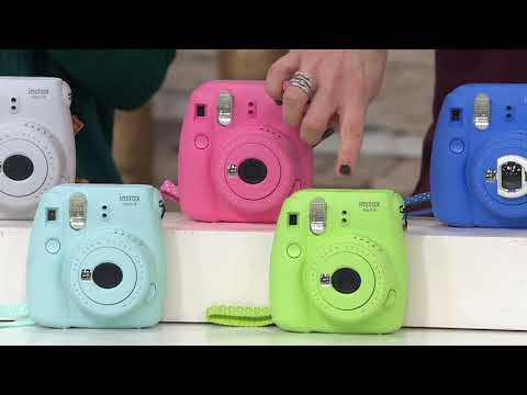 Fujifilm Instax Mini 9 Instant Film Camera with Film and Case on QVC