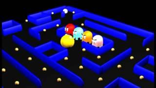 Pacman animación 3D 2012
