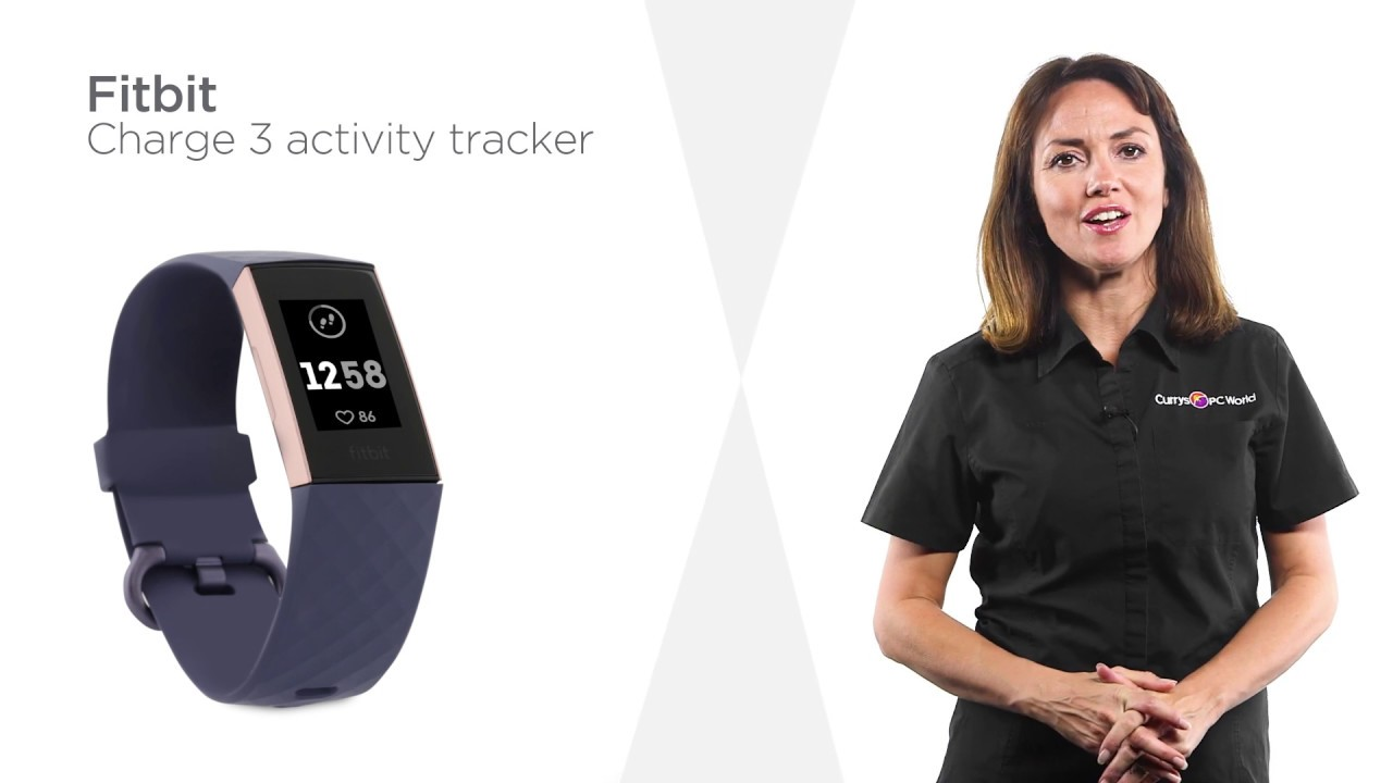 Fitbit Charge 3 - Blue Grey & Rose Gold, Universal | Product Overview |  Currys PC World