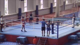 Спарринг Чемпионат Донецкой области по боксу среди молодёжи и юниоров 06 09 2020 г Бахмут