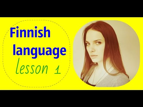 ✿ Finnish Language (lesson 1)✿
