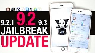 iOS 9.2, 9.2.1 & 9.3 Jailbreak Update