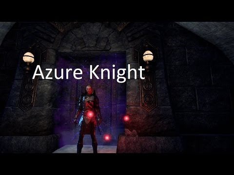 [ESO] Azure Knight - One Tamriel Magicka Nightblade Tank