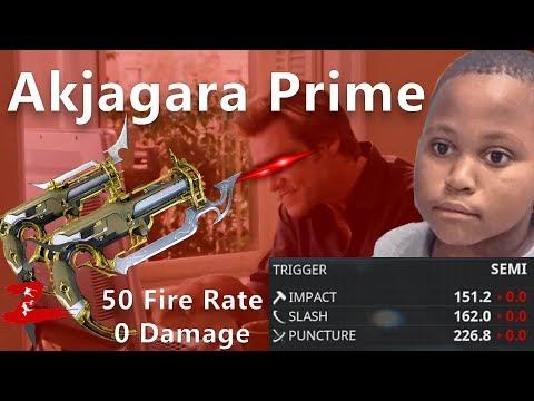 Warframe - Roll my MEME-Gun Akjagara Prime Riven with 100k Kuva