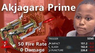 Warframe - Roll my MEME-Gun Akjagara Prime Riven with 100k Kuva