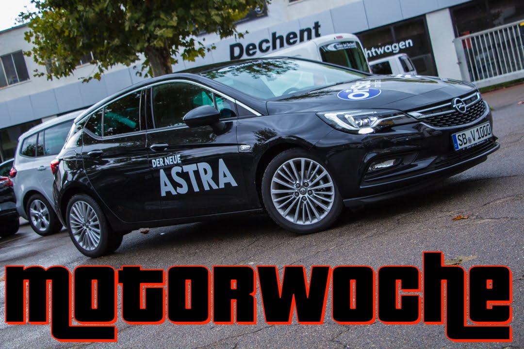 motorwoche | opel astra k 1.4 turbo | test | german | deutsch - youtube
