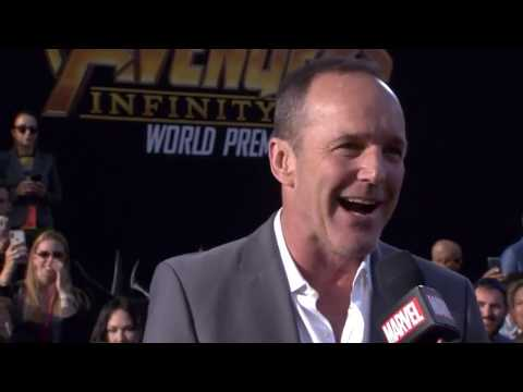 Clark Gregg (Phil Coulson) Interview - Avengers Infinity War World Premiere Red Carpet