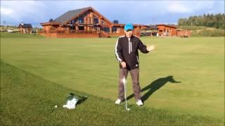 Урок по гольфу № 5 - Питч (Теория, выбор клюшки)