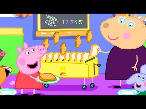 Peppa Pig Official Channel | Peppa Pig's Breakfast Club